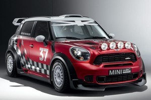 Mini's WRC car is based on the Countryman. Photo / Supplied