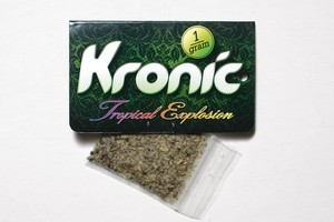 Synthetic cannabinoid substance Kronic will be banned for under-18s. Photo / Steven McNicholl