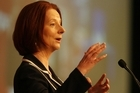 Australian Prime Minister Julia Gillard's carbon tax will come into effect July next year. Photo / Greg Bowker