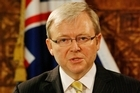 Kevin Rudd. Photo / Greg Bowker