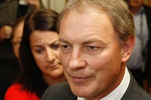 Press secretary Fran Mold (left) declined to discuss any disagreement she may have had with Labour leader Phil Goff. Photo / Mark Mitchell