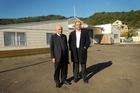 Ngati Awa board chairman Hirini Mead and chief executive Jeremy Gardiner. Photo / Rotorua Daily Post.