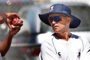 Auckland coach Paul Strang. Photo / Brett Phibbs