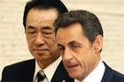 French President Nicolas Sarkozy is among those pledging international support to Japan, as it deals with the Fukushima nuclear plant crisis.