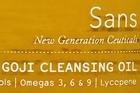 Sans Goji Cleansing Oil 250ml $62. Photo / Supplied