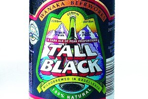 Wanaka Tall Black, RRP six-pack of 330ml bottles $19. Photo / Supplied