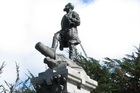 A statue of Magellan in Punta Arenas. Photo / Jill Worrall