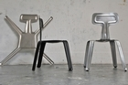 Harry Thaler took out first prize at this year's D3 Contest for his Pressed Chair made of aluminium. Photo / Supplied