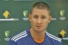 New Australian captain Michael Clarke. Photo / Getty Images