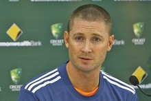 New Australian captain Michael Clarke. Photo / Getty Images 