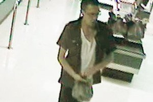 CCTV images of Matthew Hall before his death. Photo / Supplied