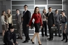 Cast of TV3's 'The Good Wife'. Photo / supplied