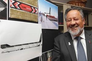 Maori Affairs Minister Dr Pita Sharples . Photo / Mark Mitchell