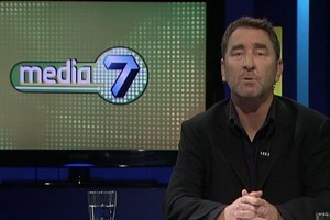 TVNZ7 was set up to give a platform for local content, such as 'Media7' presented by Russell Brown. Photo / Supplied