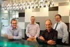 HGM Legal lawyers (from left) Simon Martin, Jason Rudkin-Binks, Wayne Hudson and Mark Gavin. Photo /  Brett Phibbs