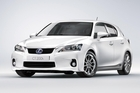 The Lexus CT200h is a smart compact car. Photo / Supplied
