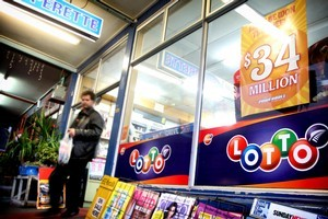 This week's Lotto Powerball has jackpotted to $34m, the highest amount it has ever reached. Photo / Natalie Slade
