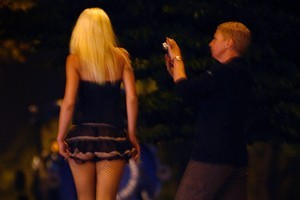 Prostitutes often draw complaints from residents. Photo / Sarah Ivey