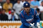 Mahendra Singh Dhoni is the real thing. Photo / Sarah Ivey