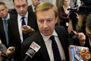 Broadcasting Minister Jonathan Coleman. Photo / Mark Mitchell