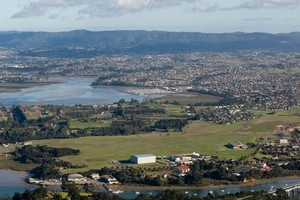 Hobsonville will be home to two schools built by the private sector. Photo / Richard Robinson