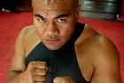 Heavyweight boxer David Tua. Photo / Brett Phibbs