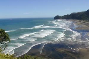 Piha was in the news this week. Photo / Supplied