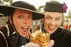 Discovered by metal detector in 2003, the Goldasaurus nugget was only 60cm under the surface. Photo / Sovereign Hill
