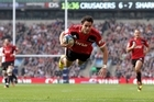 Sean Maitland has been in superb form. Photo / Getty Images