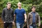 POPULAR: Emmett Skilton, Ben Barrington and Tim Balme in <i>The Almighty Johnsons</i>. Photo / Supplied
