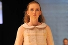 Katie Bolzonello's collection was based around ideas inspired by photographs of clouds by Sarah Moon. Photo / Supplied