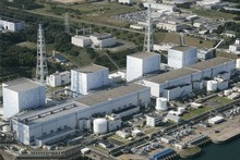 The Fukushima Dai-ichi nuclear plant, in this fil