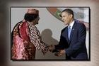 Libyan leader Muammar Gaddafi has appealed directly to President Barack Obama to halt what the Libyan leader called 'an unjust war'.