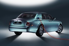 Rolls-Royce's experimental electric Phantom. Photo / Supplied