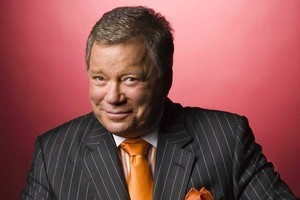 William Shatner will be on the Civic Theatre stage this Friday. Photo / Supplied