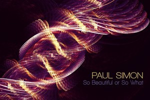 Album cover for the latest release by Paul Simon, 'So Beautiful or So What,'. Photo / AP