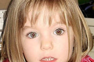 Madeleine McCann went missing in Portugal in May, 2007. Photo / Supplied