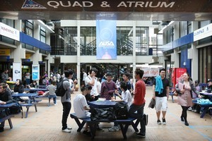 Chinese students at Auckland University favour engineering, business, music and medicine or pharmacy. Photo / Greg Bowker