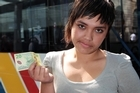Bianca Teulilo said she was 'growled at' by a bus driver for paying her fare with a $20 note. Photo / Doug Sherring