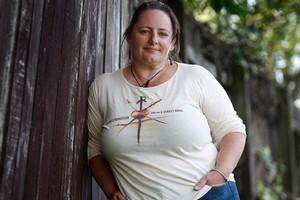 Angelique Jurd lost 10kg for surgery. Photo / Sarah Ivey