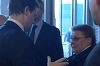 Gillian Duffy upset Nick Clegg's day. Picture / ITN