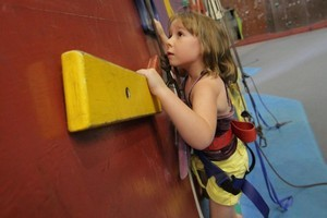 Extreme Edge Rock Climbing Centre. Photo / Supplied