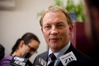 Labour Party leader Phil Goff's ranking is up, according to a new poll.Photo / Dean Purcell