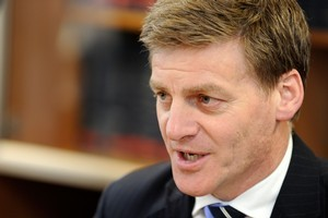 Minister of Finance, Bill English. Photo / Getty Images