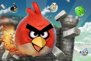 The highly-addictive Angry Birds game has become a global sensation on smartphones and tablets. Photo / Supplied