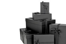 Net-a-porter.com's desirable black boxes are delivered to your door. Photo / Supplied