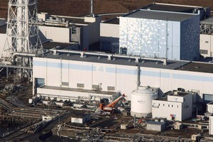 Fukushima's No. 4 reactor. Photo / AFP / JijiPress