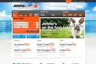 The Jetstar website. Photo / Supplied