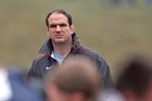 England manager Martin Johnson. Photo / Getty Images