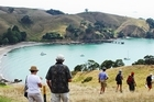 For a short day trip try the walkway on Motutapu Island in Auckland's Hauraki Gulf. Photo / Supplied